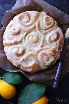 Meyer Lemon Rolls -