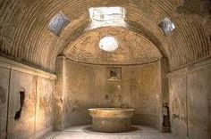 Bath in Pompeii -   Loved this place