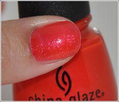 china glaze Cherry Pie