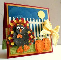 stampin up thanksgiving card