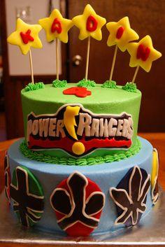 Power Rangers Samurai...on cake central