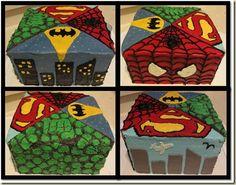 Ultimate Superhero Cake