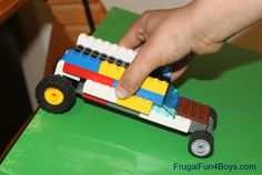 Lego Fun Friday:  Build a Car that Rolls the Farthest