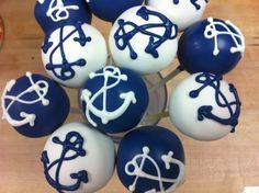 nautical cake pops!