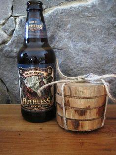Natural Wood  Hickory Coasters by TimberWoodsWares on Etsy, $16.00