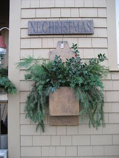 Christmas Door Box
