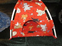 "Doll Tent  for 18""Dolls. $18.00, via Etsy."