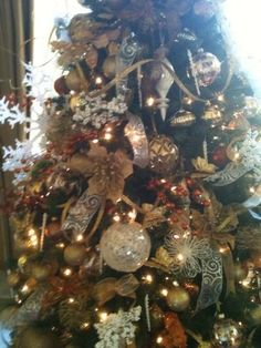 Decorated Christmas Trees On Pinterest Themed Christmas