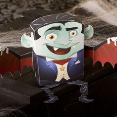 FREE printable Dracula Paper Craft #Halloween