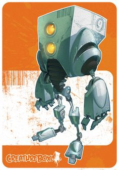 Robots by CreatureBox , via Behance join  us http://pinterest.com/koztar creaturebox, box bot, 3d character, artworks, behance, boxes, charact design, robot project, character design