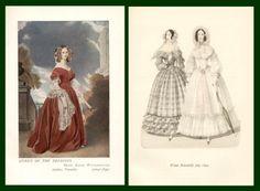 fashion 18401849, 1840s fashion