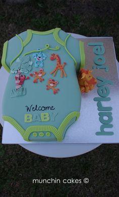 Onsie Baby Shower Cake