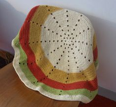Crochet this beautiful Radiance Lap Throw for yourself or a friend. It's a great project for a beginner and you can even win some of the yarn to make it!