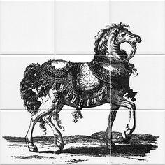 Tile horse