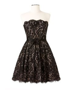 "Neiman Marcus & Target Fit-and-Flare Lace Dress $99.99 http://rstyle.me/n/f75bnyg6 #style #fashion #dress #black #white #lace #formal Check out my ""Fabrics & Other Style"" board and the rest of the dresses I love on my ""A Dress to Impress"" board!"