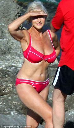 Motivation: (Dame Helen Mirren age 63) Dear Baby Jesus- please help me age like this. I WANT her genetics!