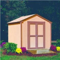 Cute Shed made from plans