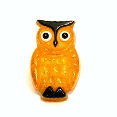 Vintage Mid Century Glittery Lucite Owl Night Light, $21 from BlissAndVinegar Vintage on Etsy
