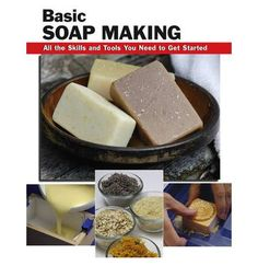 Hundreds of step-by-step, full-color photographs illustrate exactly how to make cold-process soap. Instructions on molding soap, cutting bars, creating original recipes, packaging gifts, and more. Includes a chapter on constructing a soap mold, liner, and cutter at home. Readers will learn the basic four-oil soap recipe, which can then be enhanced with additives such as oatmeal, fragrance oils, co