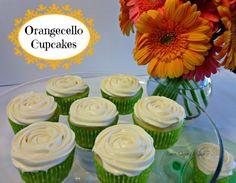 Diced! Dessert Challenge Round 2 - Orangecello Cupcakes by Booze, Sugar & Spice via rantingchef.com
