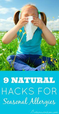9 Natural Hacks for Seasonal Allergies - Butter Nutrition