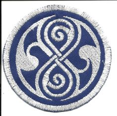 Doctor Who Seal of Rassilon Sew On Patch $8