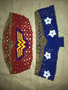 wonder woman by litmisssunshine - Kandi Photos on Kandi Patterns  pony beads
