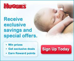 New Moms -- Register for Exclusive Savings and Special Offers from Huggies!