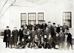 Coal Miners from Duryea, PA--1930.  This is the same year that my Grandfather was killed in the mines in Olyphant, PA.