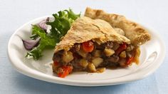 Ground Beef Pot Pie - Pie in the sky? No way! This delish dish starts with refrigerated pie crust for quick prep and a savory, satisfying meal.