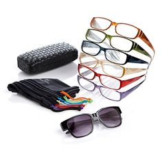Joy Mangano SHADES Readers 15pc Faceted Designer Set