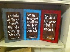 Handmade Pallet Wood Verse/Saying