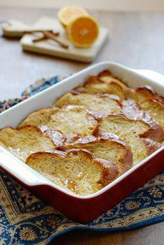 Orange Cinnamon Baked French Toast