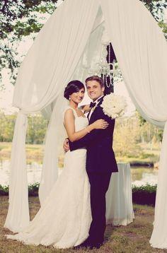 Wedding arch.  http://www.weddingthingz.com/katie--luke.html