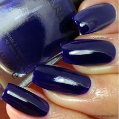 Sassy Paints: Barielle Moda Blue from the Me Couture Collection.