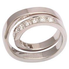 #CARTIER PARIS Nouvelle Vague #Diamond #Ring