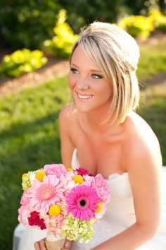 Gerber Daisy bridal bouquet Stephie Joy Photography : Jacksonville and St. Augustine Florida Wedding and Lifestyle Photography » Jacksonville and St. Augustine Florida ...