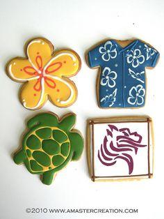 Hawaiian cookies