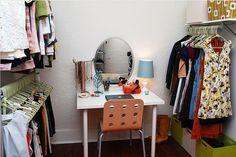 closet idea, closet room, turn closet, interior dese, dress room, closet envi, closets, hous, room turn