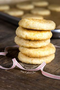 Gluten Free Soft Drop Sugar Cookies