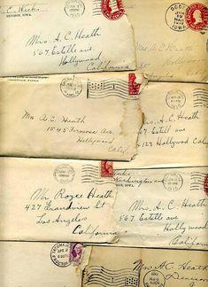 old  letters zablogar