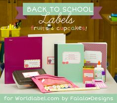 Back to School Labels for everything and everything!