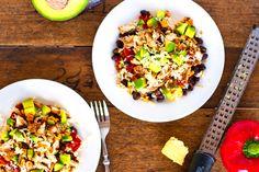 Spicy Fish Taco Bowls — Pinch of Yum