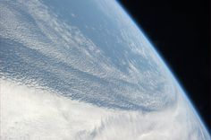 #clouds over the #pacific. #space