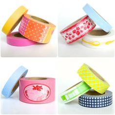 New washi tape designs
