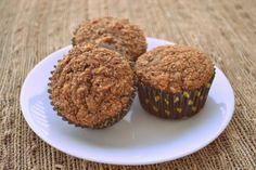 Honey Wheat Bran Muffins