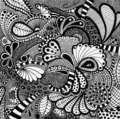 sketch, black n white, pattern design inspiration, zen tangle art, zen doodle, zen tangles, zentangl squar, design styles, doodle art