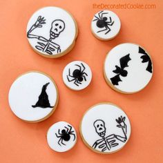 Halloween Cookies via In Katrina's Kitchen
