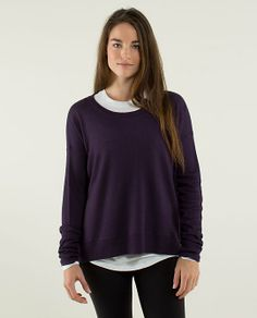 On chilly mornings when we are headed for chai or Chaturanga, we want a cozy sweater that keeps us warm without weighing us down | Pure Balance Sweater