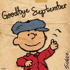 Bye September. Next up, October!